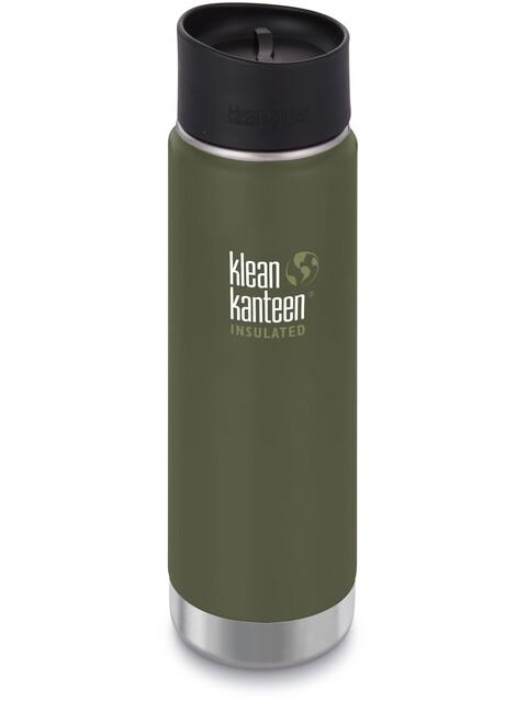 Klean Kanteen Wide Vacuum Insulated Bottle Café Cap 2.0 592ml Fresh Pine Matt